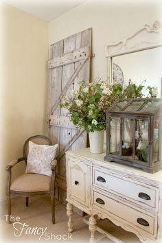 DIY:: Barn Door Repurposed Rustic Decor..