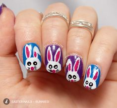 DIY: Easter Nails