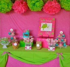Frog Princess Birthday Party