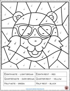 Groundhog Day music lessons | Music Groundhog Day Activities: 12 Groundhog Day Music Coloring Pages | #musiceducation #musiced