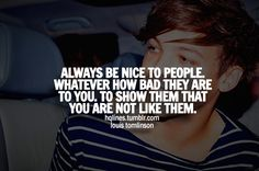 One Direction Life Quotes | louis tomlinson, sayings, quotes, life, love - inspiring picture on ...
