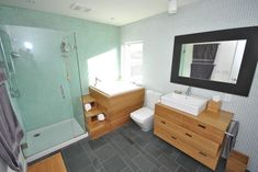 Blair House - modern - bathroom - Empire Development & Construction