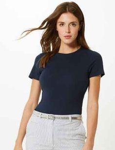M&S Navy T-Shirt