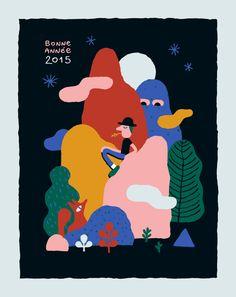Vincent Béchet - Greeting card 2015