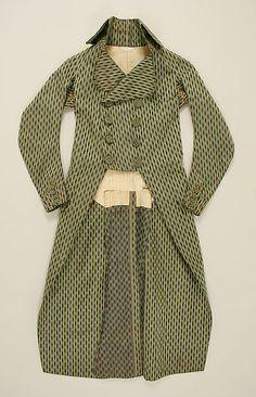 Coat, 1790's, French.