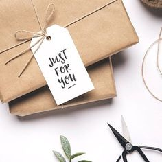 Our sweet gift tags are the perfect addition to your beautifully wrapped gift 💕 Wrapping Ideas, Present Wrapping, Creative Gift Wrapping, Creative Gifts, Paper Tags, Paper Gifts, Gift Wraping, Brown Paper Packages, Christmas Mood