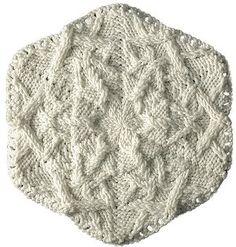 Gorgeous Knit Snowflake   AllFreeKnitting.com
