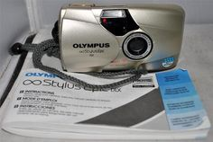 OLYMPUS Stylus Epic DLX 35mm Compact Panorama Point and Shoot Camera