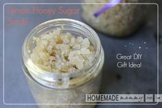 I am planning a 'make and take' DIY beauty party for the holidays and wanted to include a sugar scrub. I just love lavender and lemon scents and they are so ...
