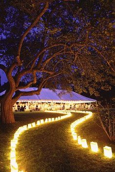 30 creative ways to light your wedding day pinterest creative the christmas wedding after party awaits junglespirit Gallery