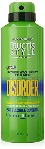 Garnier Hair Care Fructis Style Power Wax Disorder Spray for Men 6 Ounce ** Visit the image link more details. Note:It is affiliate link to Amazon.