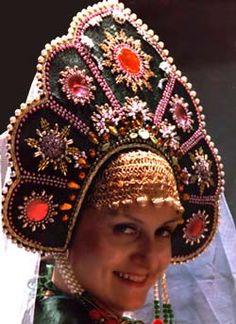 Russian kokoshnik headdress.