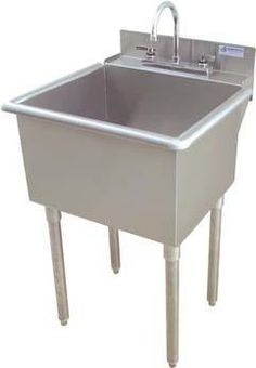 For The Griffin Lt 118 21 X 18 Utility Sink Stainless