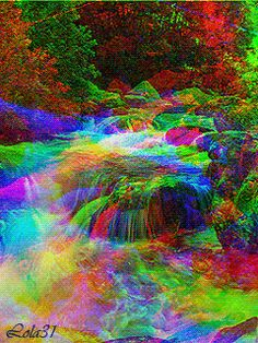 Gypsy Hollow - Ten Annual Traditions to Embrace Spring Thursday March, 19 2020 Scenery Pictures, Gif Pictures, Colorful Pictures, Nature Pictures, Beautiful Nature Wallpaper, Beautiful Gif, Beautiful Landscapes, Gif Bonito, Rainbow Waterfall