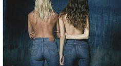 Levi's 'wedgie fit jeans' promise to make cheeks look chic — and remind us of schoolyard bullies Jeans Fit, Levis Wedgie Jeans, High Jeans, Mom Jeans, Skinny Jeans, American Consumerism, Textiles Y Moda, Canadian Tuxedo, Girls Dream