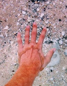 What crystal clear water looks like...