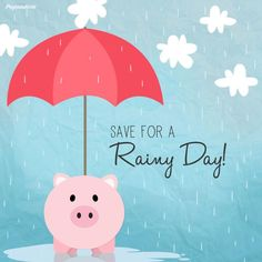 Teach 'em how to save when they're young! Half of all pocket money goes in the Piggy Bank! #Parenting #Saving #Kids