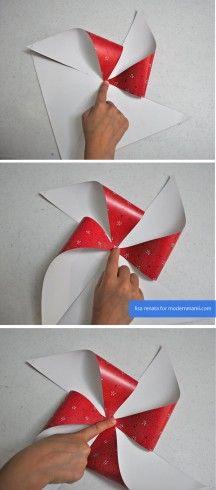 Easy & festive DIY 4th of July Pinwheels on modernmami.com! #FourthofJuly #4thofJuly #kidscrafts