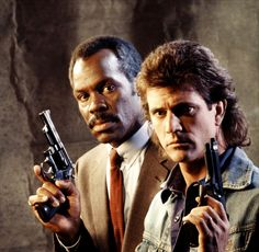 Lethal Weapon - Martin Riggs & Roger Murtaugh - Mel Gibson & Danny Glover