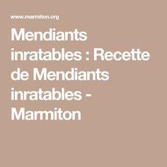 Mendiants inratables : Recette de Mendiants inratables - Marmiton