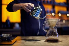 Kone coffee filter: Stainless steel filter  for use in Chemex® and other pour over style coffee makers . Designed w/ a goal to produce a sustainable filter that also brewed awesome coffee. designed and manufactured in the USA.
