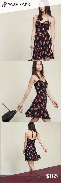 Strawberry dress strawberry 🍓 Reformation Reformation strawberry dress Reformation Dresses