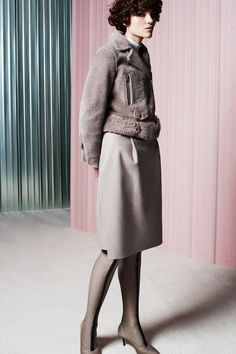 Acne Studios | Pre-Fall 2014 Collection | inside-out shearling
