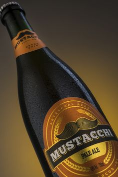 Mustacchi Beer on Packaging of the World - Creative Package Design Gallery