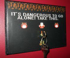 Legend of Zelda Key Hook | DudeIWantThat.com