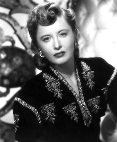 Portrait of Barbara Stanwyck in The Strange Love of Martha Ivers, directed by Lewis Milestone, 1946.