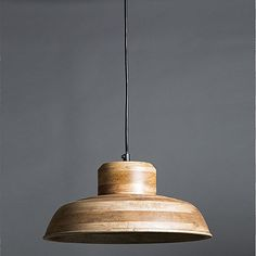 Welcome the warm and varied texture of natural wood into your interiors with the Circa Wooden Pendant Light from Emac & Lawton. Wood Pendant Light, Kitchen Lighting, New Kitchen, Natural Wood, Ceiling Lights, Home Decor, Lounge, Interiors, Warm
