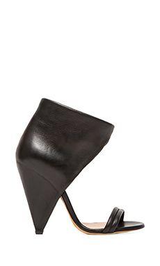 IRO Saika Heels in Black   REVOLVE~~these are really cute on.