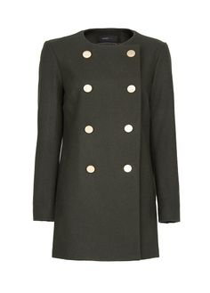 Double breasted wool coat - Women 02e3505bf2