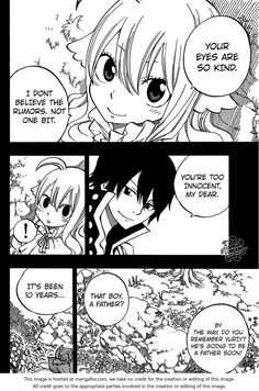 Fairy Tail 449: Mavis And Zeref at MangaFox.me >>> ahhhhh fangirling