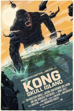 'Kong: Skull Island' (Regular Edition) by Francesco Francavilla