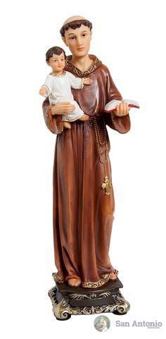 San Antonio: Santo franciscano de origen portugués, sacerdote y doctor de la Iglesia. Su nombre de nacimiento era Fernando Martins; era hijo primogénito de Martín de Alfonso, caballero portugués descendiente de nobles franceses (los Bouillon), y de María Taveira.