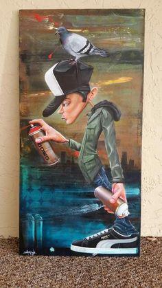 Artwork (painting) by Patrice Smog Moretti  Instagram : @smoggraffiti Facebook : SMOG ONE Site : www.smogone.com  Arte sem Fronteiras : Twitter.com/artesfronteiras Instagram.com/artesemfronteiras Facebook.com/artsemfronteiras  #smogone #smog #instartesemfronteiras #artesemfronteiras #graffiti #mundolivre #mundocriativo #spray  #sprayart #spraypaint #sprayasf #paint #painting #acrylic #acrílica