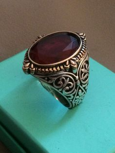 Hand made 925 sterling silver man ring by No1artsjewellery on Etsy