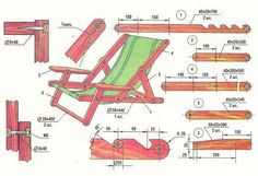Схемы садовой мебели