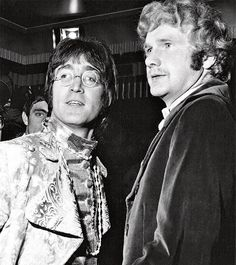 Pete Shotton, right, with John Lennon at the height of the Beatles' fame in 1967