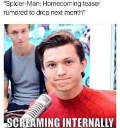 And this better be the final spider man! I'm sick of having like a billion different spider men!