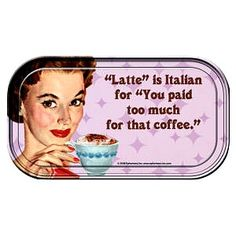 Italian 101. That's why I make my own…at home!!