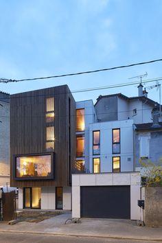 maison contemporaine à meudon bm architectes