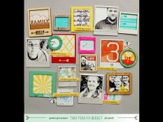 Scrap Your Stash: Frames (Two Peas in a Bucket). Different ways to use frames.