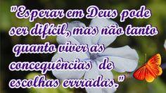 FALANDO DE VIDA!!: Esperar em Deus pode ser difícil ...