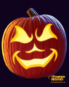 """Wicked"" from Pumpkin Masters. Check this free pattern out on our website: http://www.pumpkinmasters.com/free-patterns.asp"