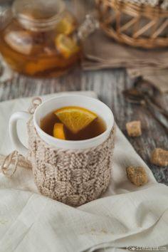 Hot Tea Grog With Lemons And Oranges | Foodienarium