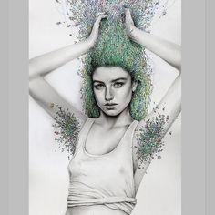 Kate Powell Art @katelouisepowell Drawing finished!...Instagram photo   Websta (Webstagram)