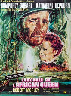 "L'Odyssée de l'African Queen ""The African Queen (John Huston) 1951"