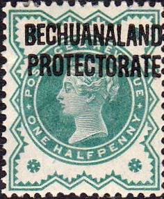 Bechuanaland 1897 Queen Victoria Fine Used Sg 60 Scott 75 Other British Commonwealth Empire and Colonial stamps Here